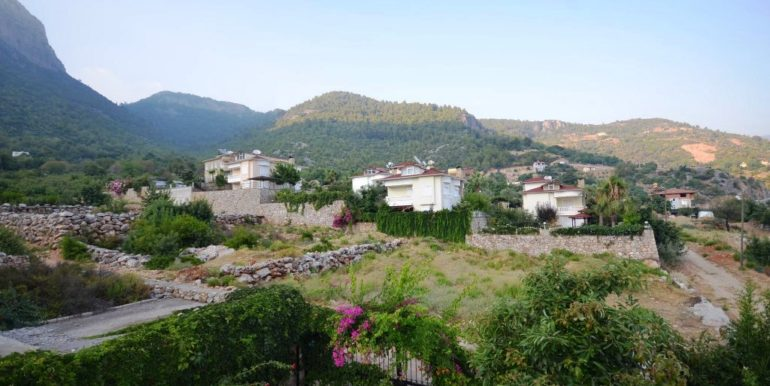 185000 Euro Panorama Villa For Sale in Alanya