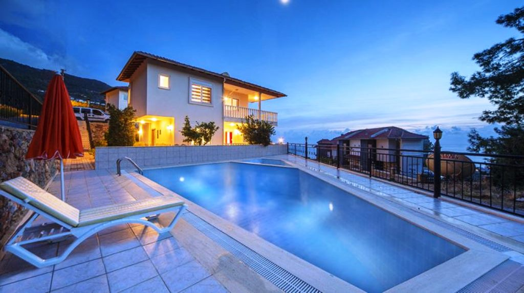 149000 Euro Sea View Private Villa te koop in Alanya VERKOCHT