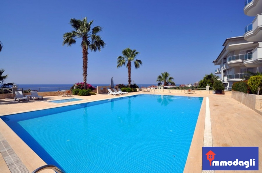 2 Bedroom flat for sale in Alanya Turkey 89.500 Euro