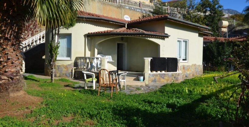 Cheap Private House Villa for Sale in Alanya 57000 €