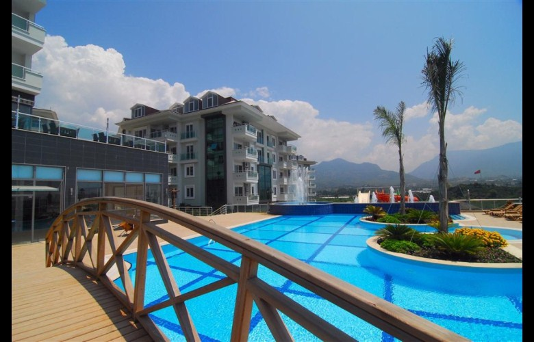 115000 Euro Apartment For Sale in Alanya