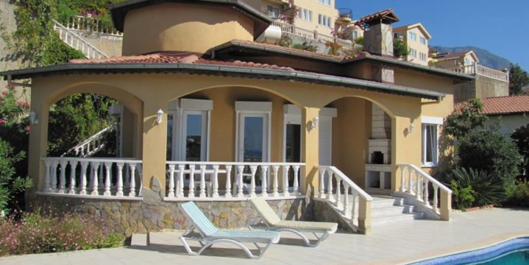115000 Euro Sea View Villa for Sale in Alanya 1