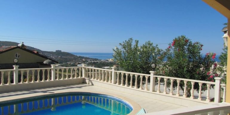 115000 Euro Sea View Villa for Sale in Alanya 3