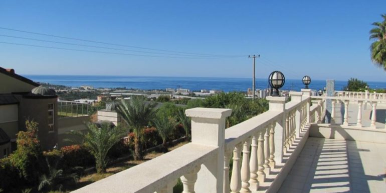 115000 Euro Sea View Villa for Sale in Alanya 6