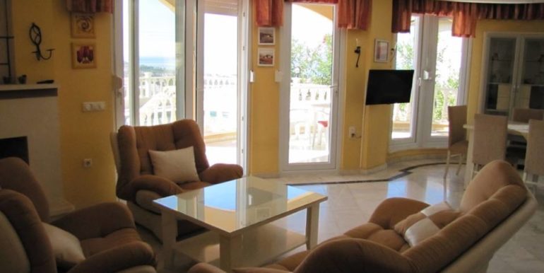 115000 Euro Sea View Villa for Sale in Alanya 7