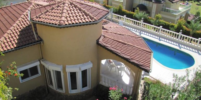 115000 Euro Sea View Villa for Sale in Alanya 9