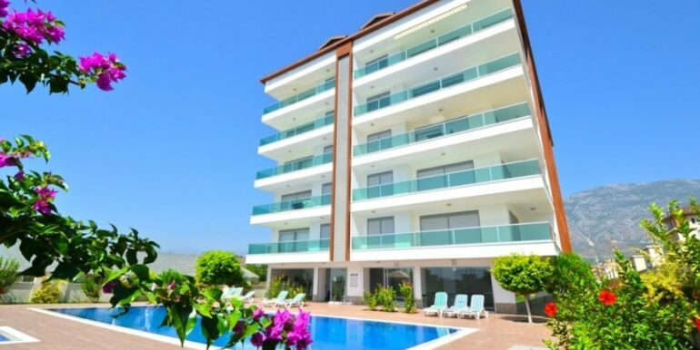 129000 Euro Penthouse For Sale in Alanya 12