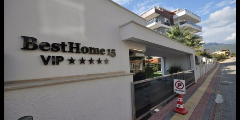 129000 Euro VIP Apartment For Sale in Alanya 1