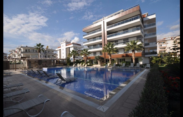 129000 Euro VIP Apartment For Sale in Alanya