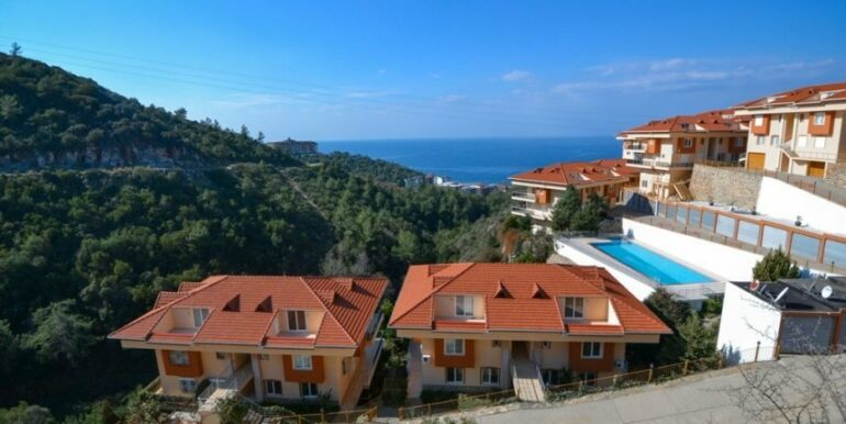 135000 Euro Penthouse For Sale in Alanya 25