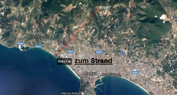 135000 Euro Plot For Sale in Alanya 2
