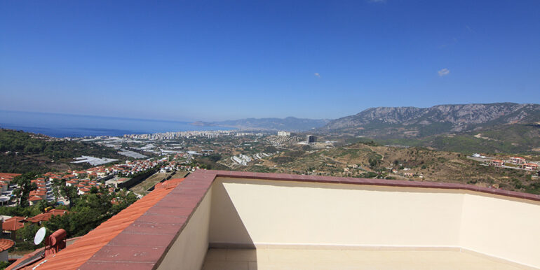 135000 Euro Sea View Villa For Sale in Alanya Kargıcak 26