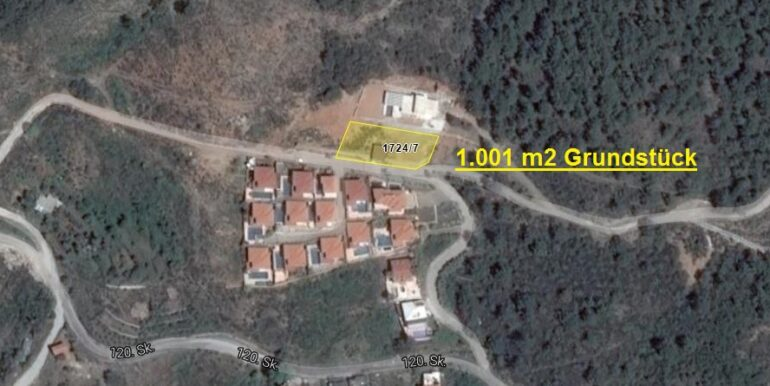 145000 Euro Plot For Sale in Alanya 1