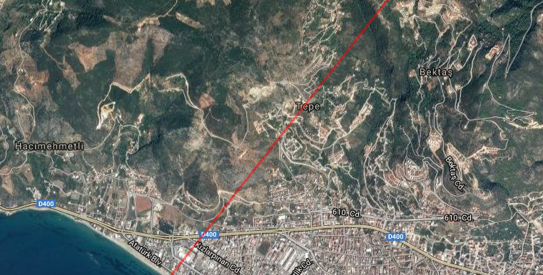 145000 Euro Plot For Sale in Alanya 4