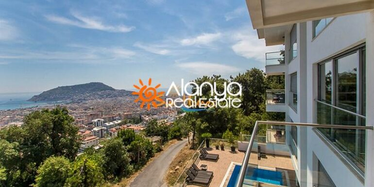 149000 Euro Sea View Penthouse For Sale in Alanya 7
