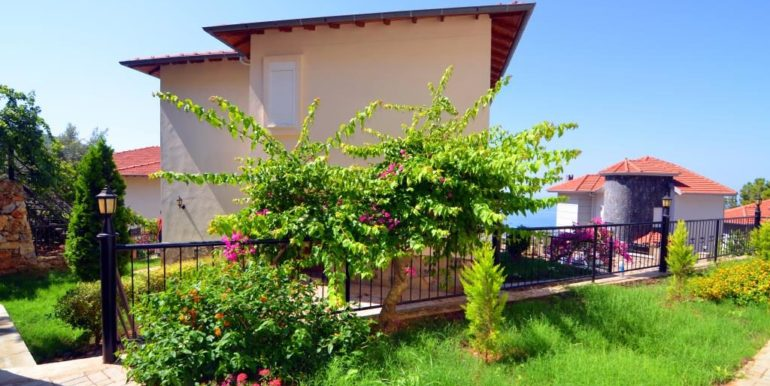 149000 Euro Sea View Villa te koop in Alanya 5