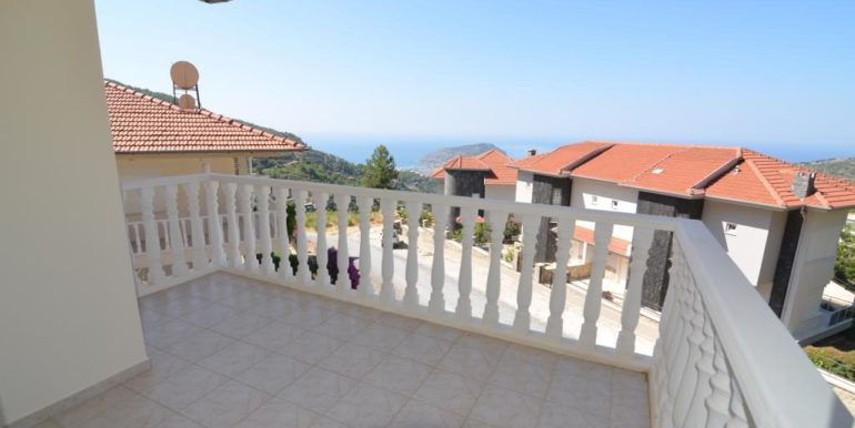 149000 Euro Sea View Villa te koop in Alanya 19