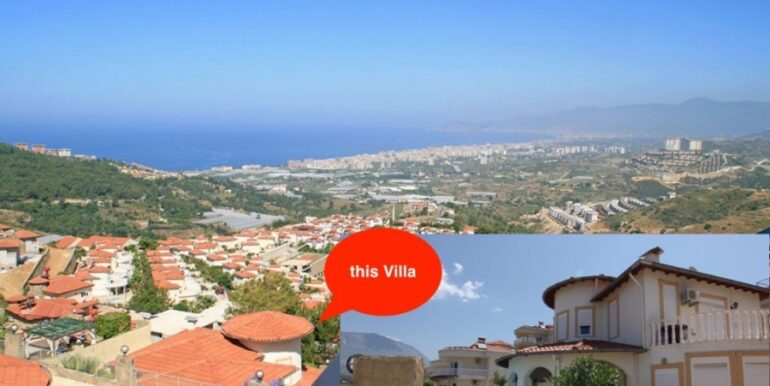 149000 Euro Villa For Sale in Alanya 2