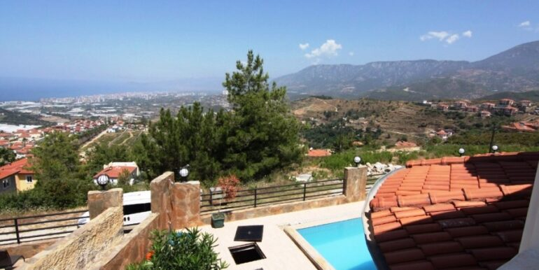 149000 Euro Villa For Sale in Alanya 14
