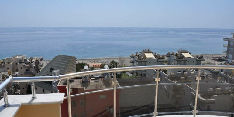 159000 Euro Alanya Sea View Penthouse For Sale 8
