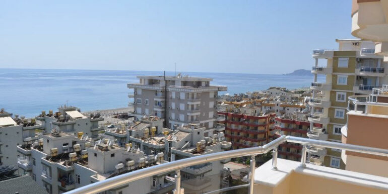 159000 Euro Alanya Sea View Penthouse For Sale 10