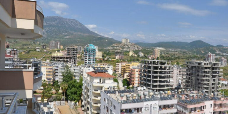 159000 Euro Alanya Sea View Penthouse For Sale 11