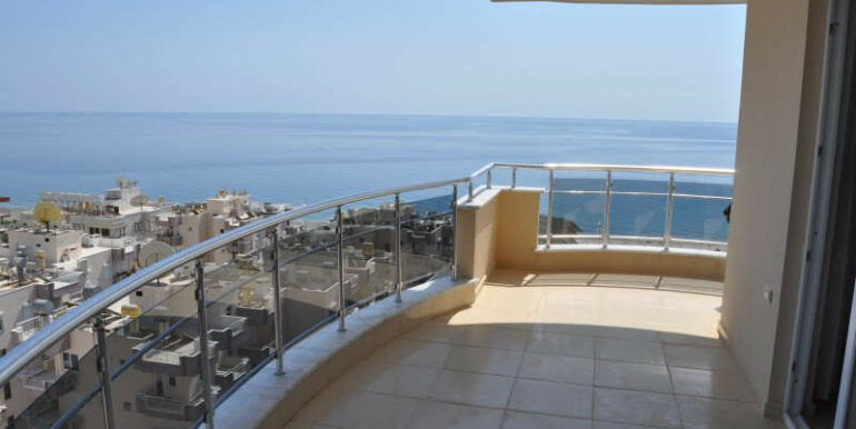 159000 Euro Alanya Sea View Penthouse For Sale 12