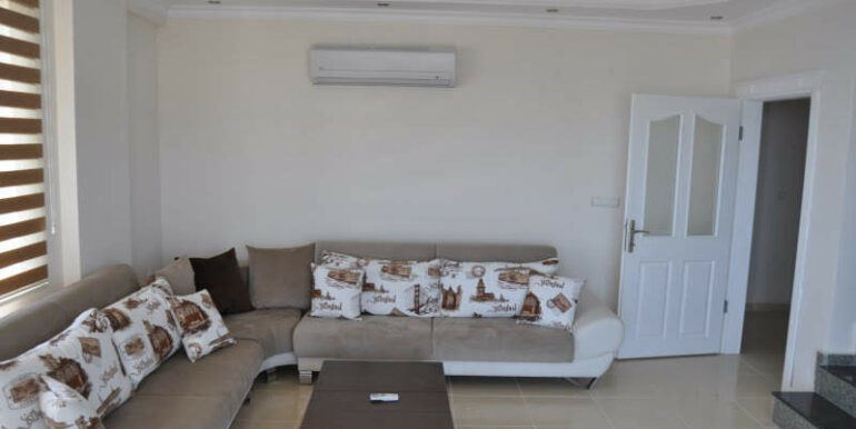 159000 Euro Alanya Sea View Penthouse For Sale 13