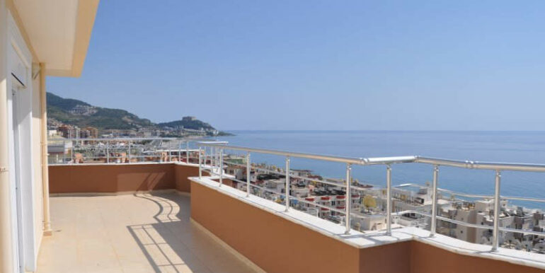 159000 Euro Alanya Sea View Penthouse For Sale 23