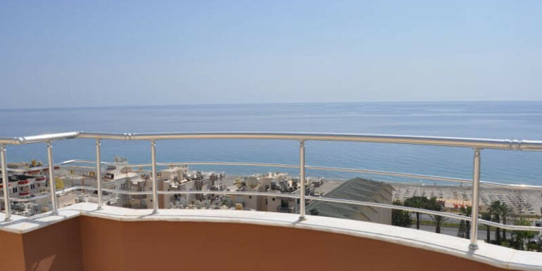 159000 Euro Alanya Sea View Penthouse For Sale 24