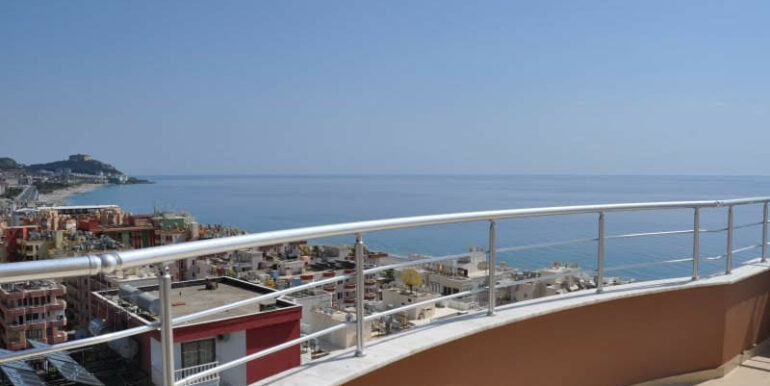 159000 Euro Alanya Sea View Penthouse For Sale 27