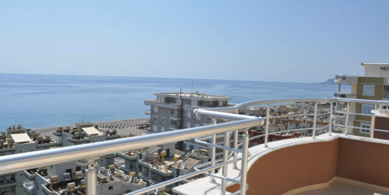 159000 Euro Alanya Sea View Penthouse For Sale 28