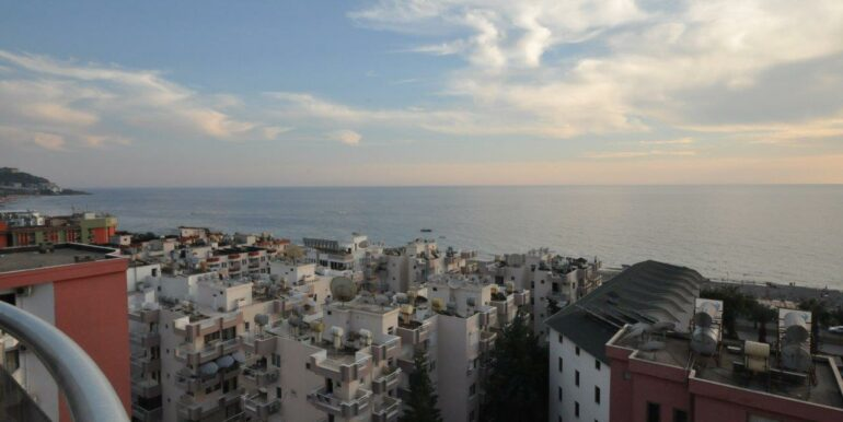 159000 Euro Alanya Sea View Penthouse For Sale 34