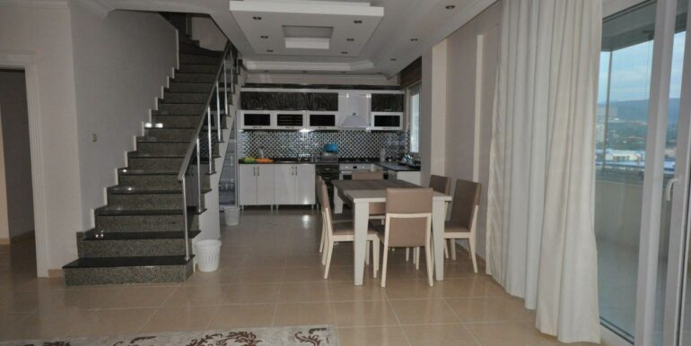 159000 Euro Alanya Sea View Penthouse For Sale 37