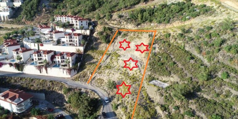159000 Euro New Private VillaHome For Sale in Alanya Tepe Bektas 1