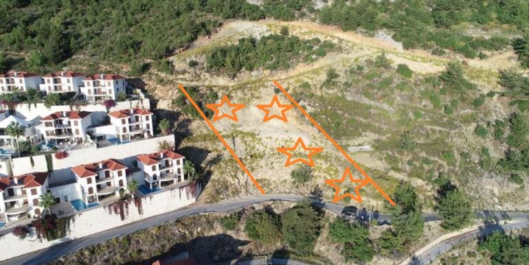 159000 Euro New Private VillaHome For Sale in Alanya Tepe Bektas 3