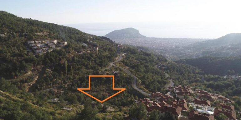 159000 Euro New Private VillaHome For Sale in Alanya Tepe Bektas 5