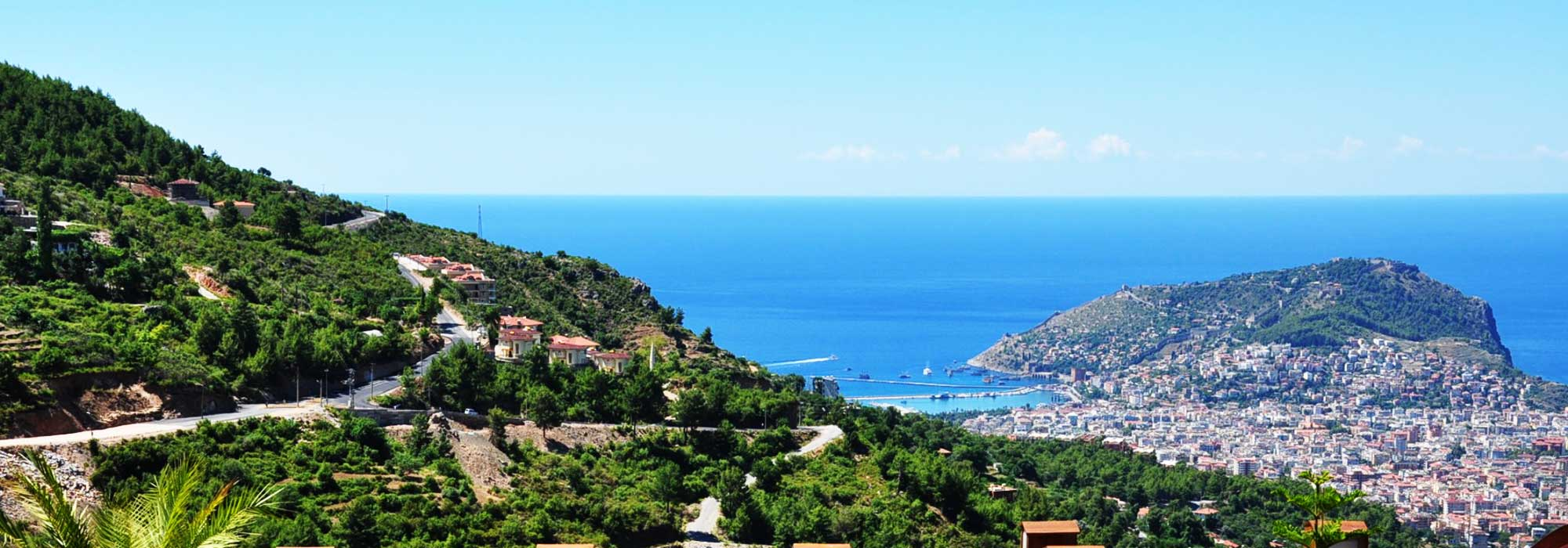 159000 Euro New Private Villa Home For Sale in Alanya Tepe Bektas