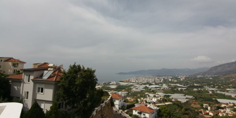 159000 Euro Sea View Villa For Sale in Alanya 8