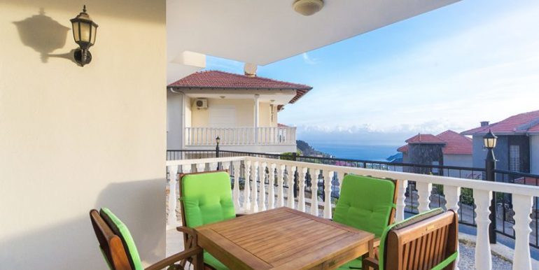 159000 Euro Sea View Villa for Sale in Alanya 17