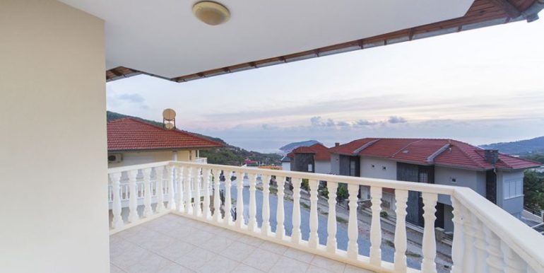 159000 Euro Sea View Villa for Sale in Alanya 27