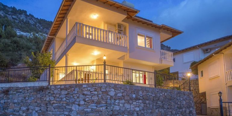 159000 Euro Sea View Villa for Sale in Alanya 34