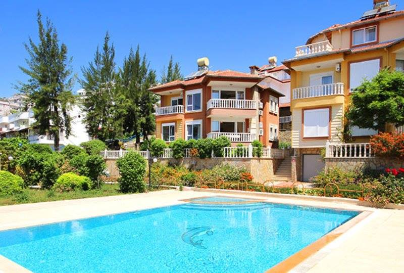 159000 Euro Villa For Sale in Alanya Demirtas
