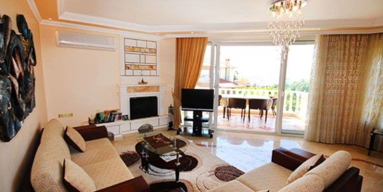 159000 Euro Villa For Sale in Alanya Demirtas 3