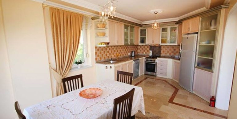 159000 Euro Villa For Sale in Alanya Demirtas 6