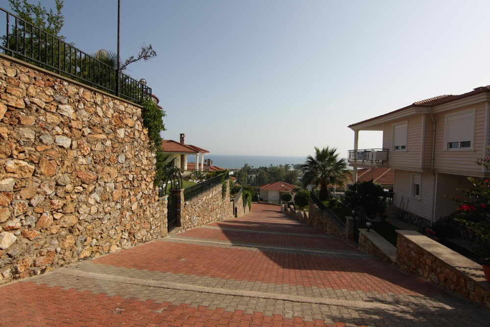 165000 Euro Private Villa For Sale in Alanya