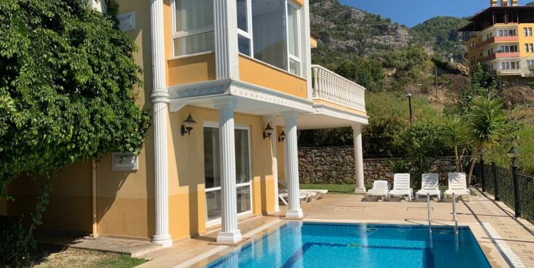 165000 Euro Villa For Sale in Alanya 14