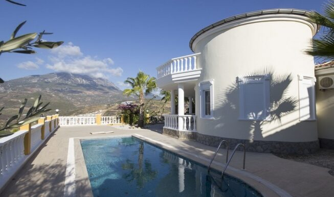 169000 Euro Villa For Sale in Alanya 1