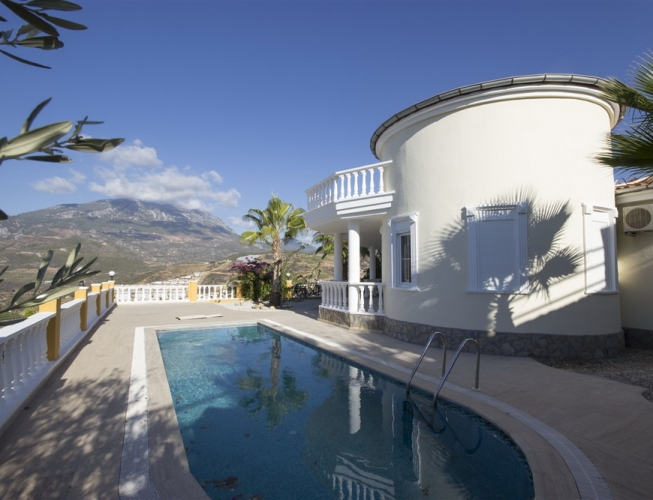 169000 Euro Villa For Sale in Alanya