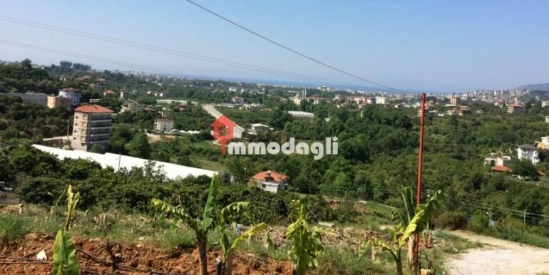 192000 Euro Plot For Sale in Alanya Oba 3